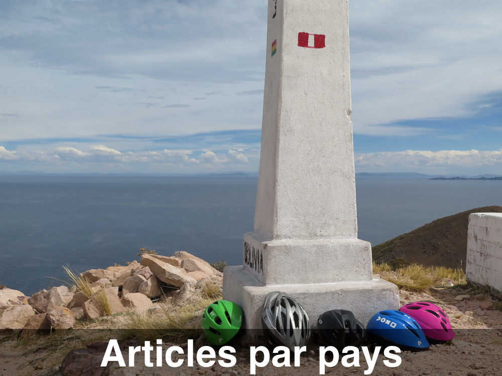 Les articles par pays visités
