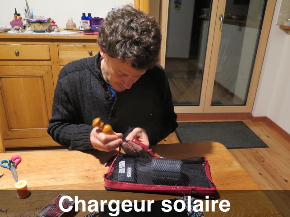 Le chargeur solaire